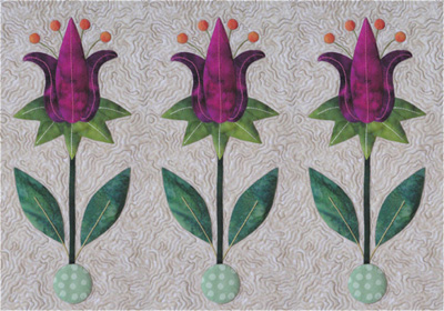 tulips by Sandra Leichner