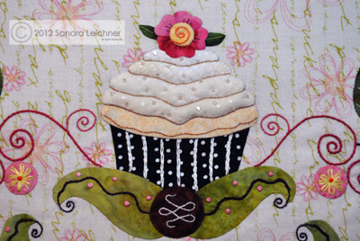 The Cupcake Block : cupcake quilt patterns - Adamdwight.com